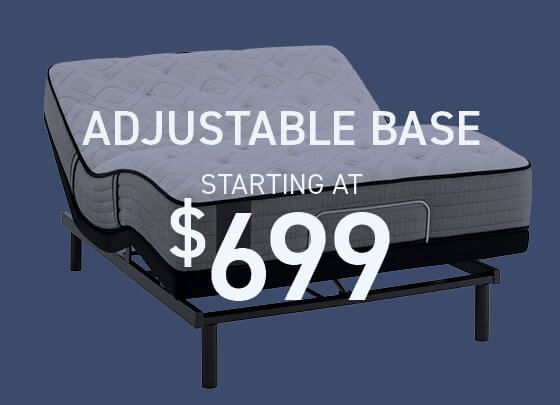 Adjustable Bases starting at $699